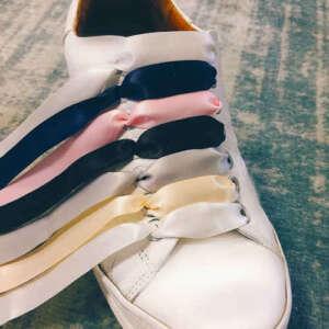 Satijn lint schoenveters
