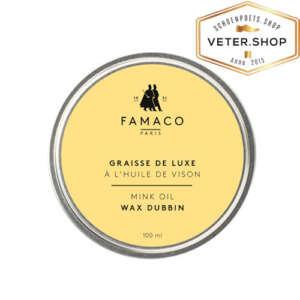 Famaco leervet - wax dubbin - mink oil