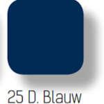 025 donker blauw